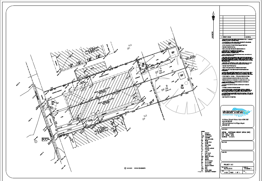 Detail and Levels survey